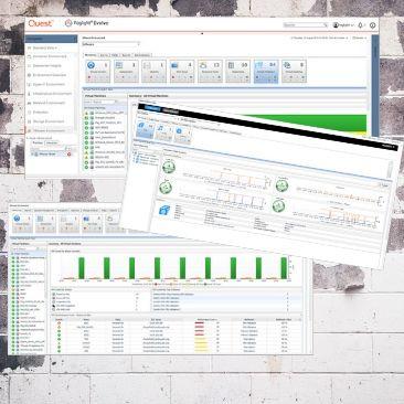 Zagotovite vrhunsko zmogljivost, razpoložljivost in vzdrževanje IT sistemov | Foglight Evolve Monitor